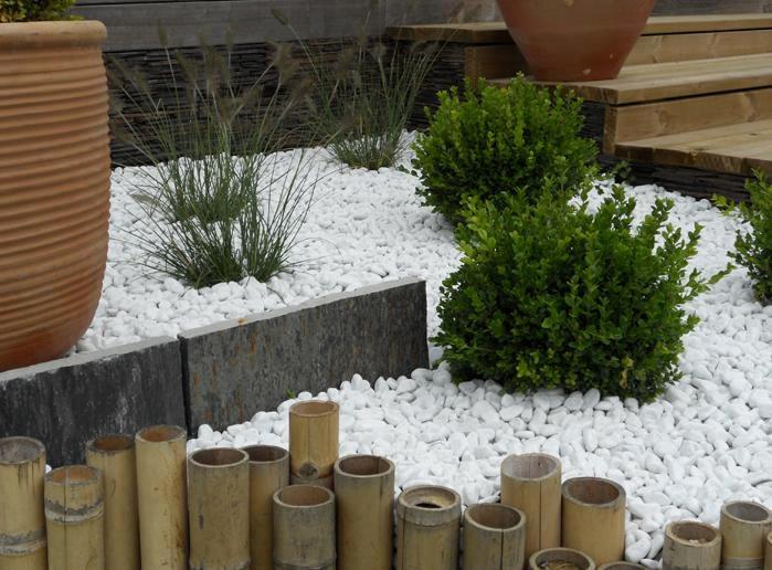Croissant Gravier et Galet – Garden Aménagement NO-65